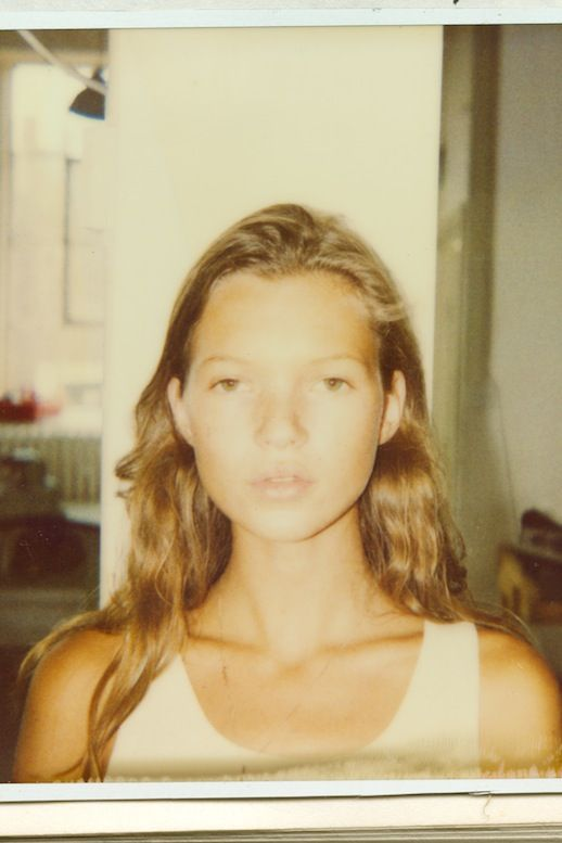 This Rare Polaroid of a Baby Kate Moss Is Everything