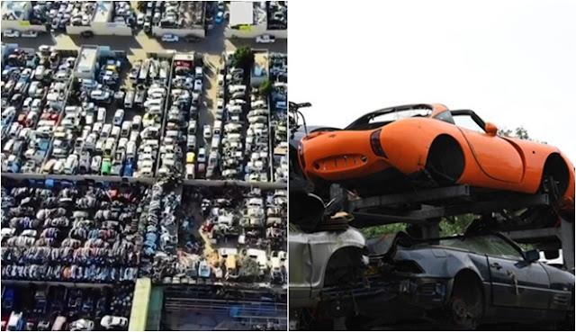 di Dubai yang Dijadikan Tempat Pembuangan Mobil Mewah