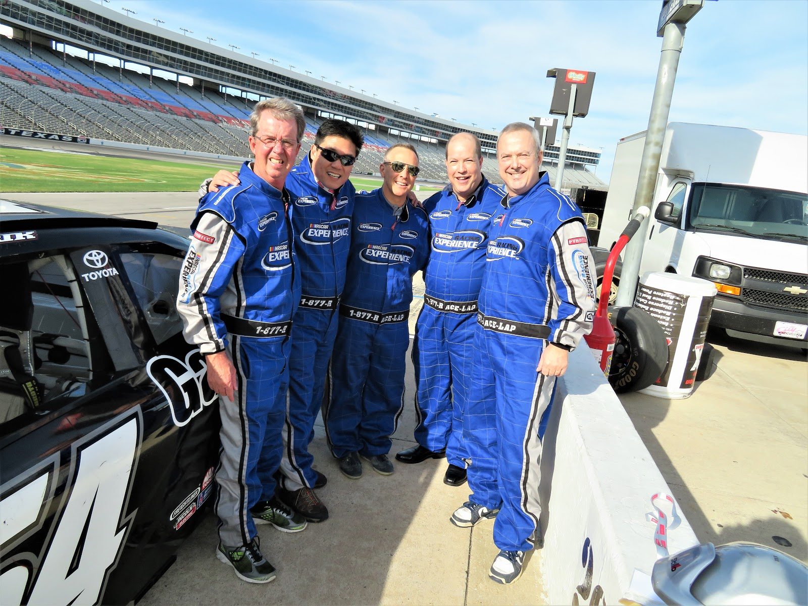 Todd swank for Texas motor speedway driving experience