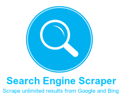 Search Engine Scraper [Scrape unlimited results from Google and Bing]