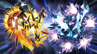 Pokemon Ultra Sun and Moon Laptop Wallpaper