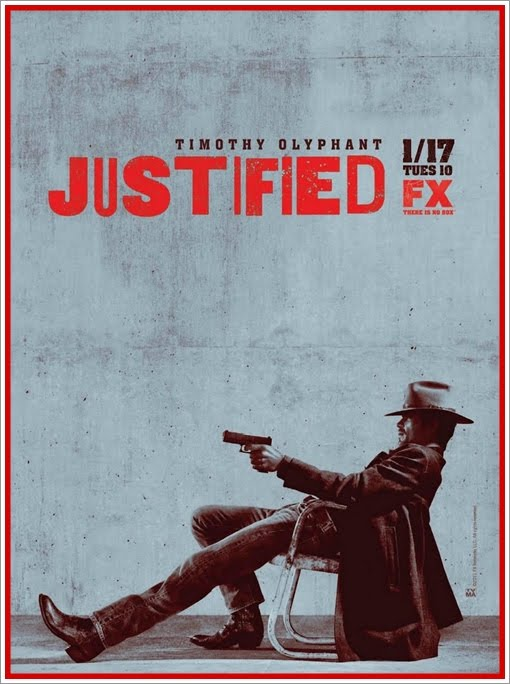 Justified 2 Season Poster