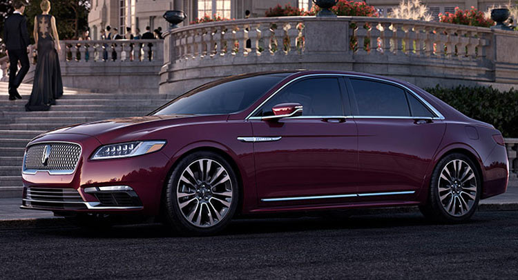 2016 Lincoln Town Car Price >> 2017 Lincoln Continental Reportedly Priced From $46,000