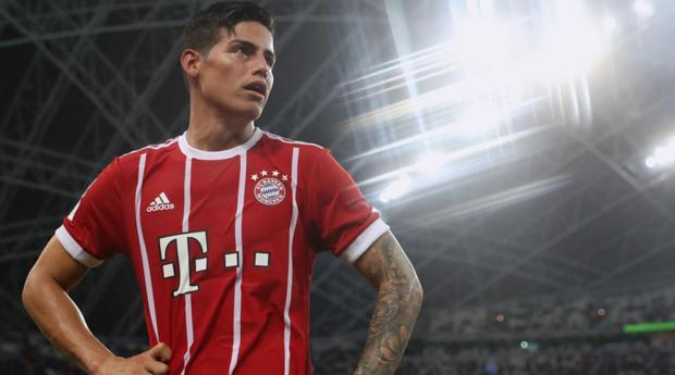 Bayern Munich, James Rodriguez