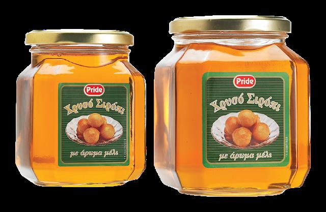 Χρυσό σιρόπι με άρωμα μέλι