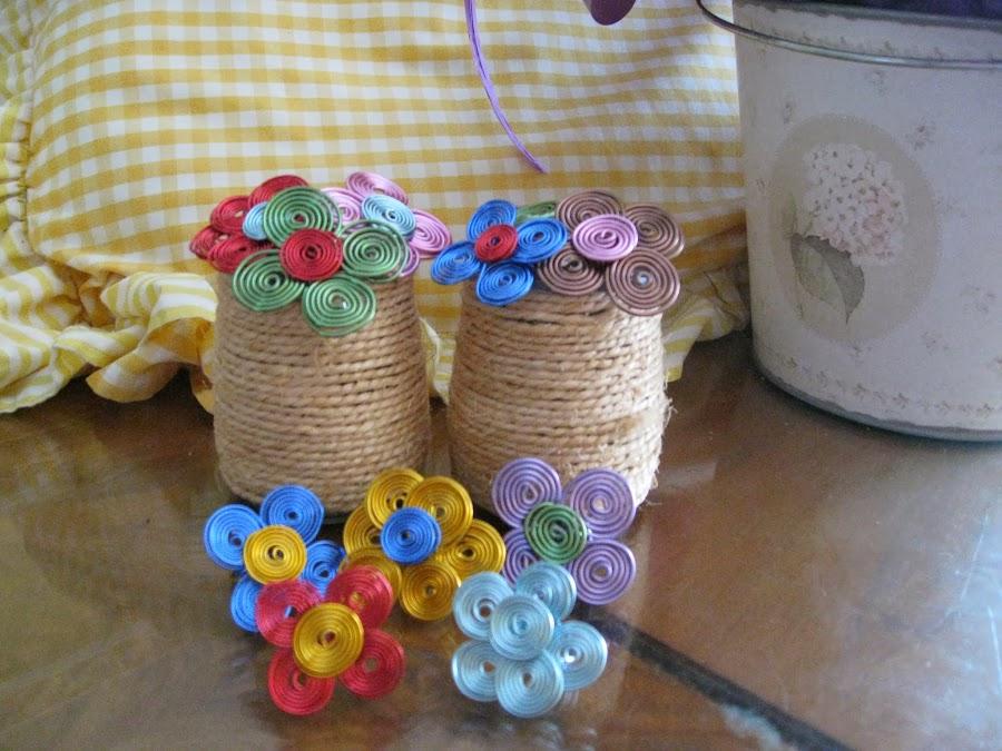 anillos de flores