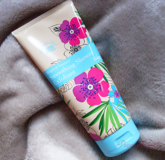 Cien tropical summer Smoothing shower exfoliant