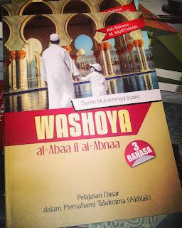 WASHOYA AL-ABAA LI AL-ABNA  3 BAHASA