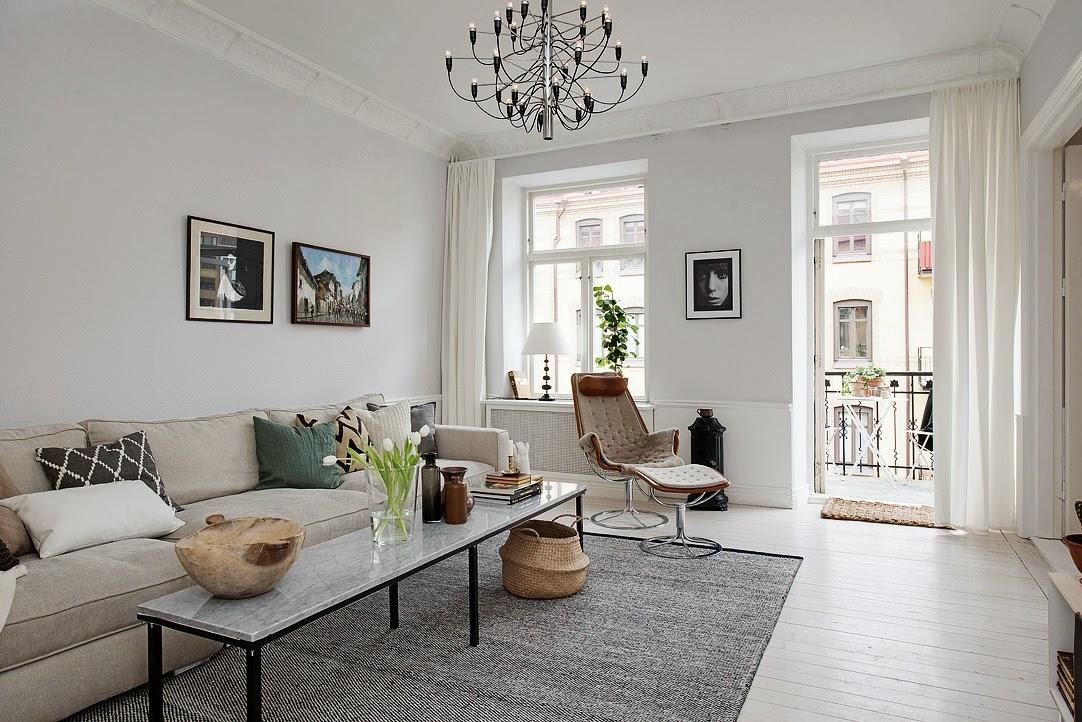 El blog de demarques 10 salones de estilo escandinavo for Decoration de salon