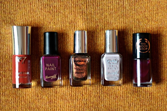 My 5 Nail Polish Picks For Autumn/Winter