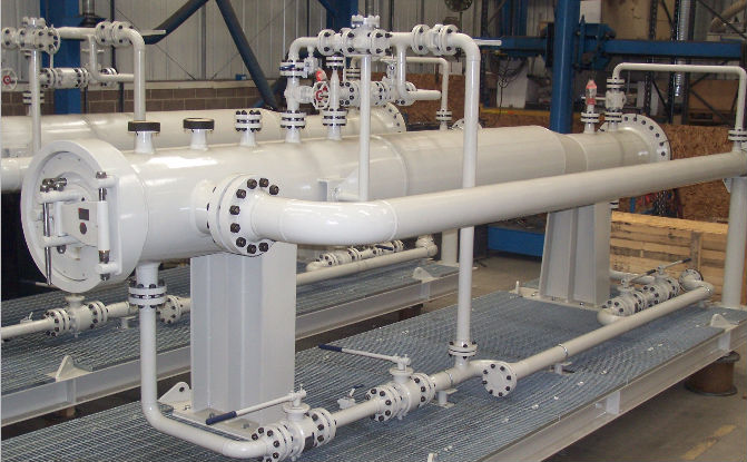 What are pig launcher and receivers piping design