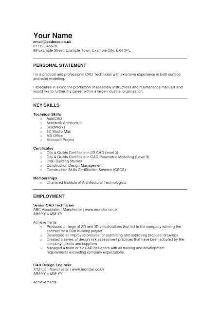 good font for cv