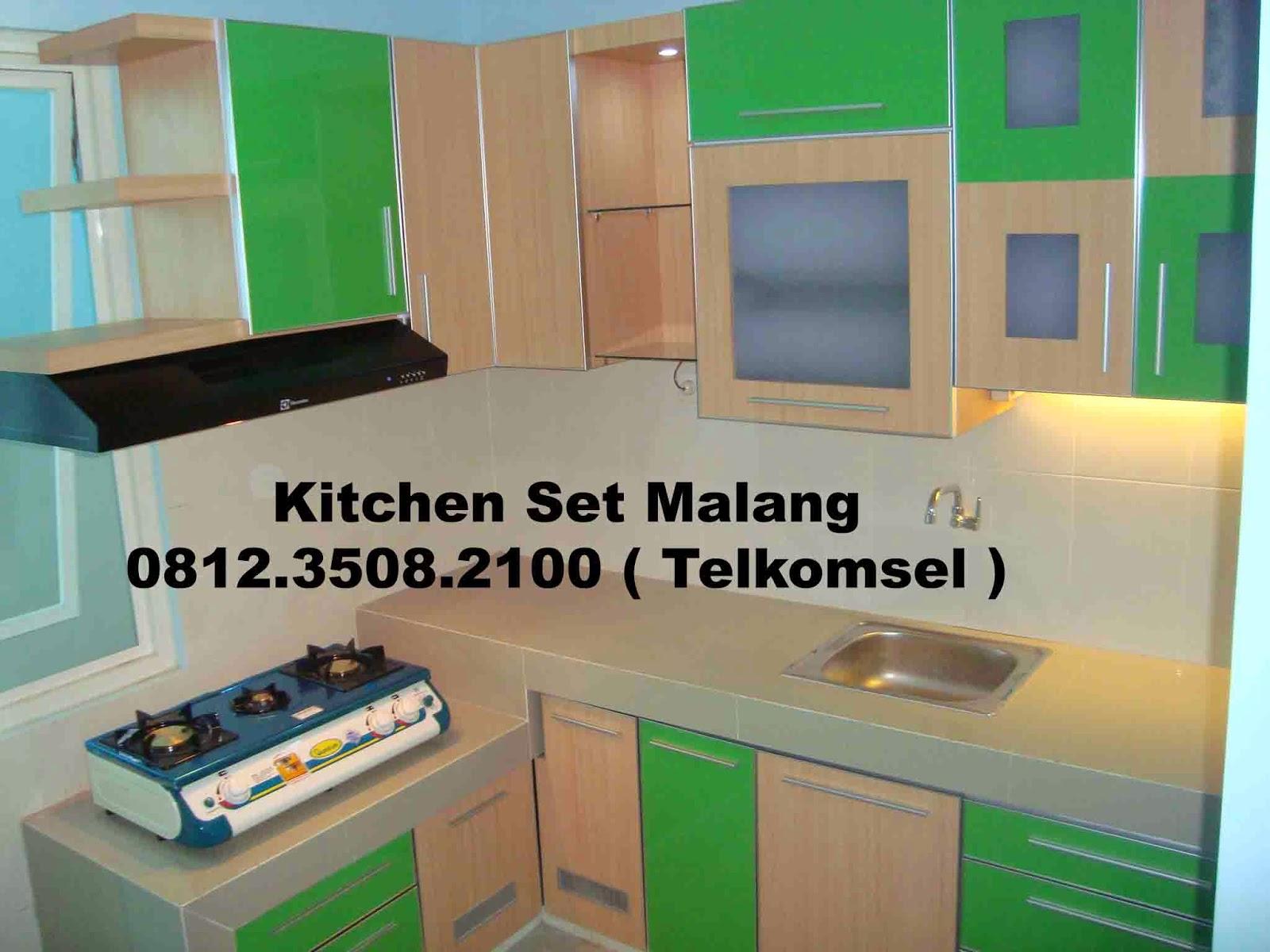 Jasa kitchen set malang jasa pembuatan kitchen set di for Daftar harga kitchen set