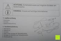Beschriftung: Beurer HK 44 Heizkissen (elektrische Wärme in Wärmflaschenform)