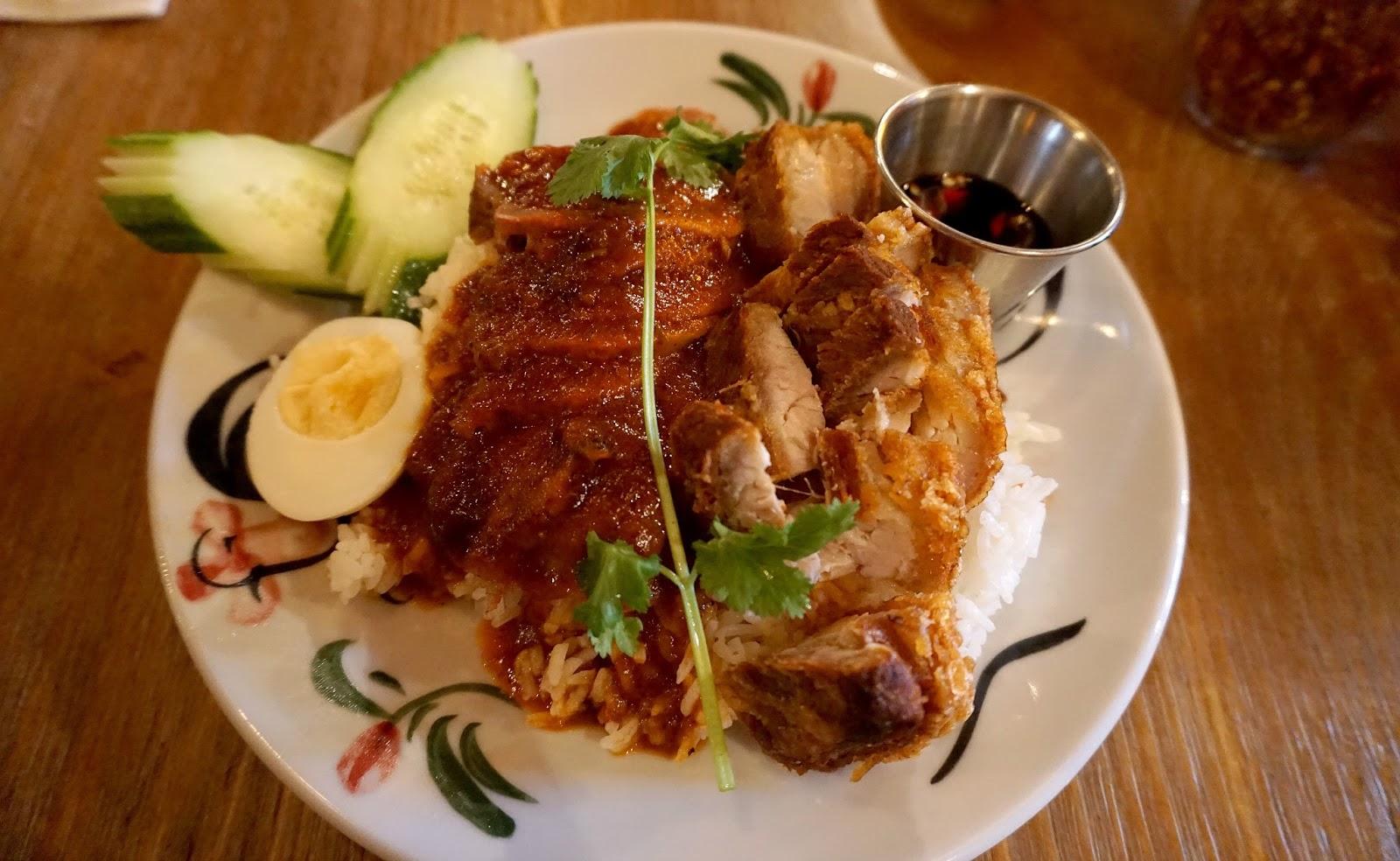 Thaikhun Khao Moo Daeng Moo Grob