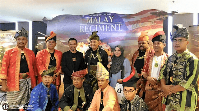 Tayangan perdana Malay Regiment,