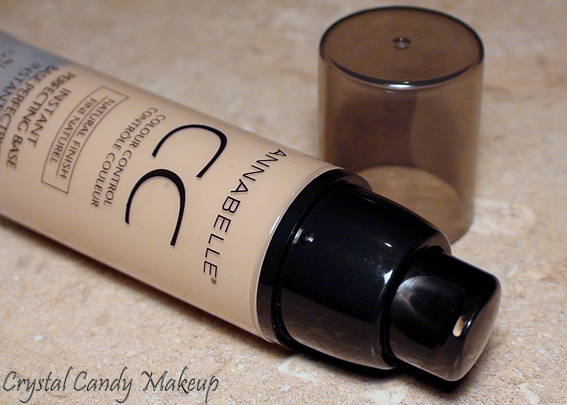 Base perfectrice instantanée contrôle couleur CC Annabelle  - Fini Lumineux et Naturel - Colour Control Instant Perfecting Base Cream - Luminous and Natural Finish - Review