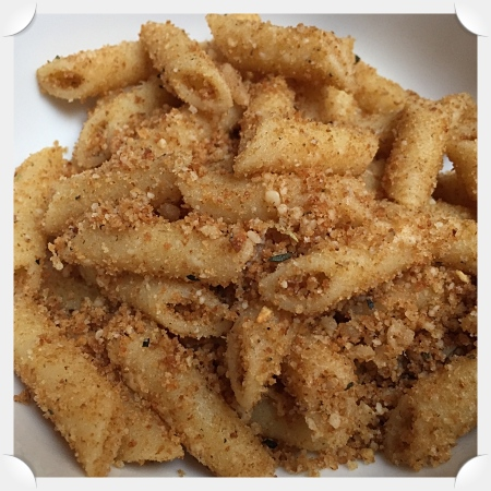 Garlic Pasta with Bread Crumbs