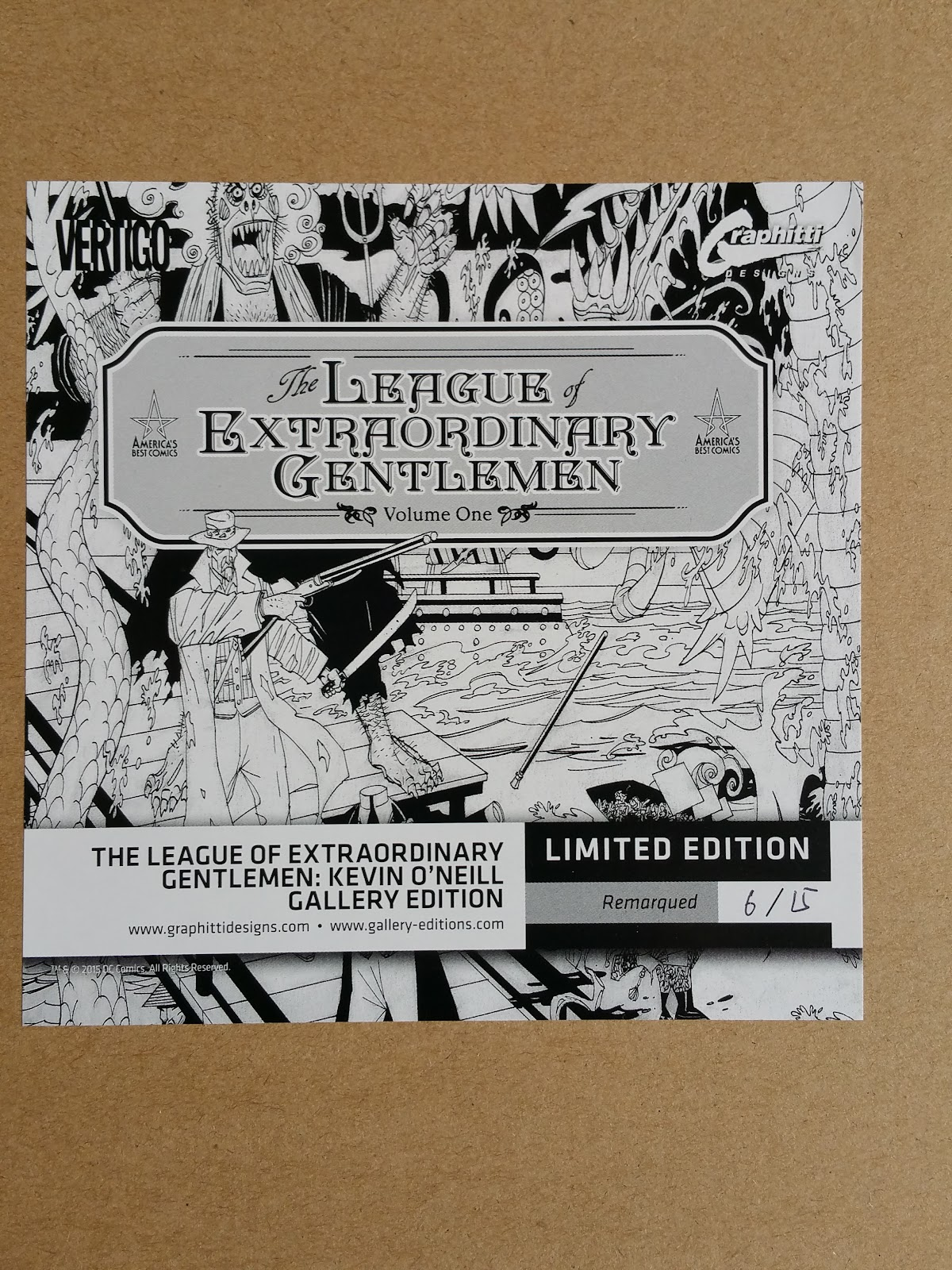 annotations to league of extraordinary gentlemen volume - HD 1200×1600