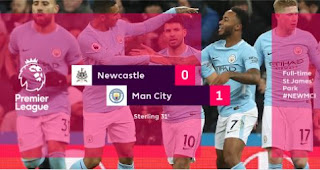 Newcastle United vs  Manchester City 0-1 Highlights