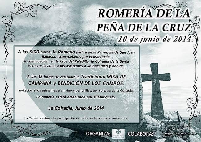10/Junio. Romería de la Peña de la Cruz. Béjar