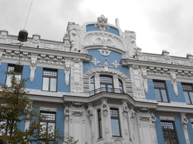 Weekend in Riga Latvia: Art Nouveau architecture