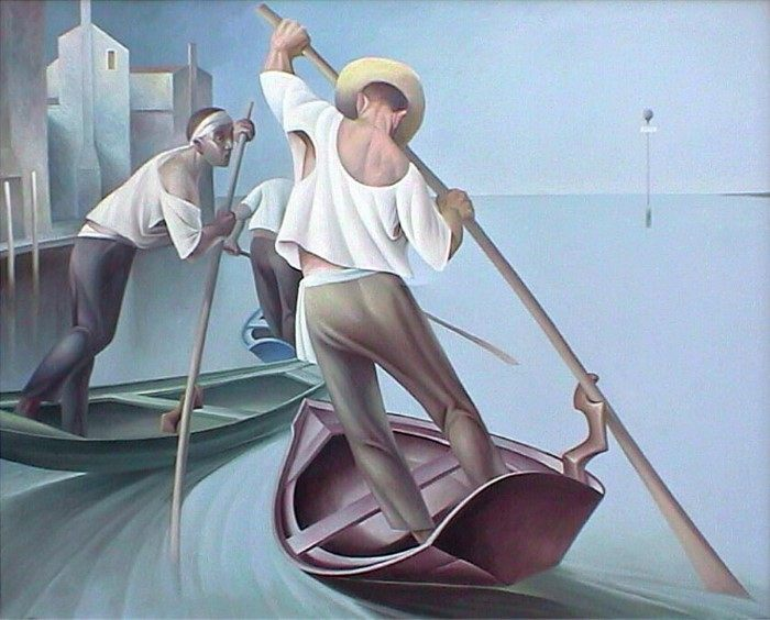 Итальянский художник. Giampaolo Ghisetti