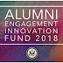 AEIF 2018 Alumni Engagement Innovation Fund - Apply