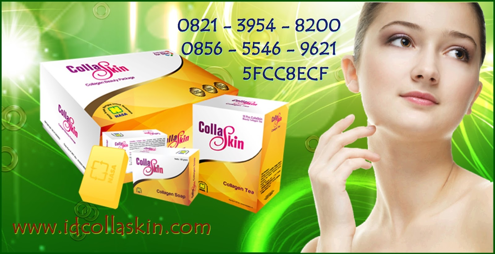 Berapa Harga Collagen Collaskin Asli Nasa Sebenarnya Jual Body Lotion