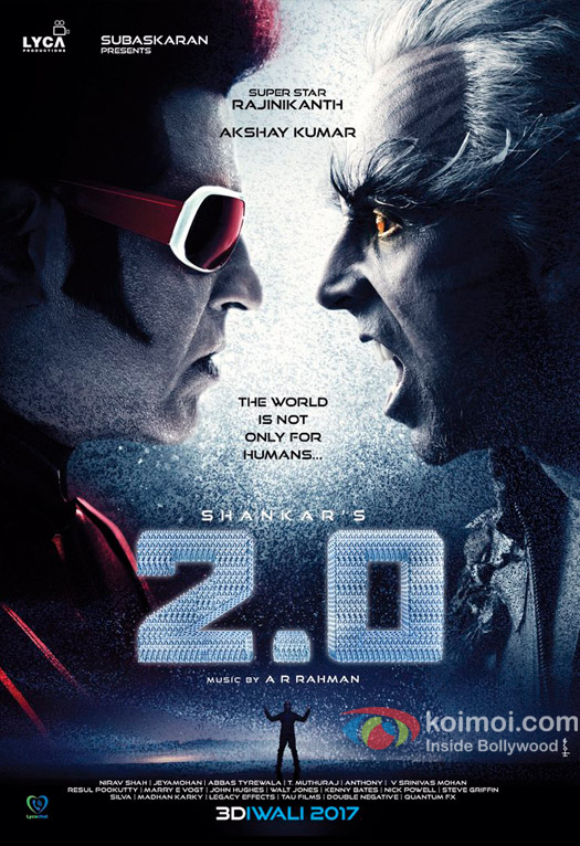 Robot 2.0 FirstLook poster for you