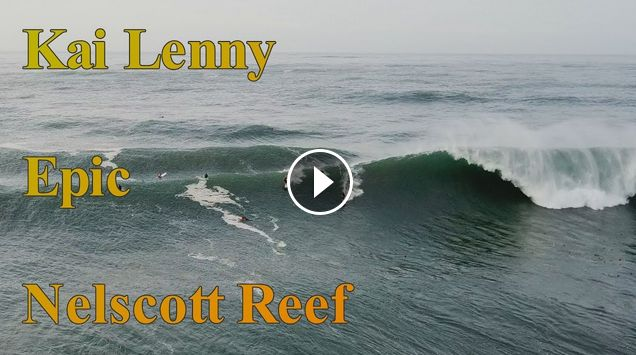 Kai Lenny - Epic Nelscott Barrel