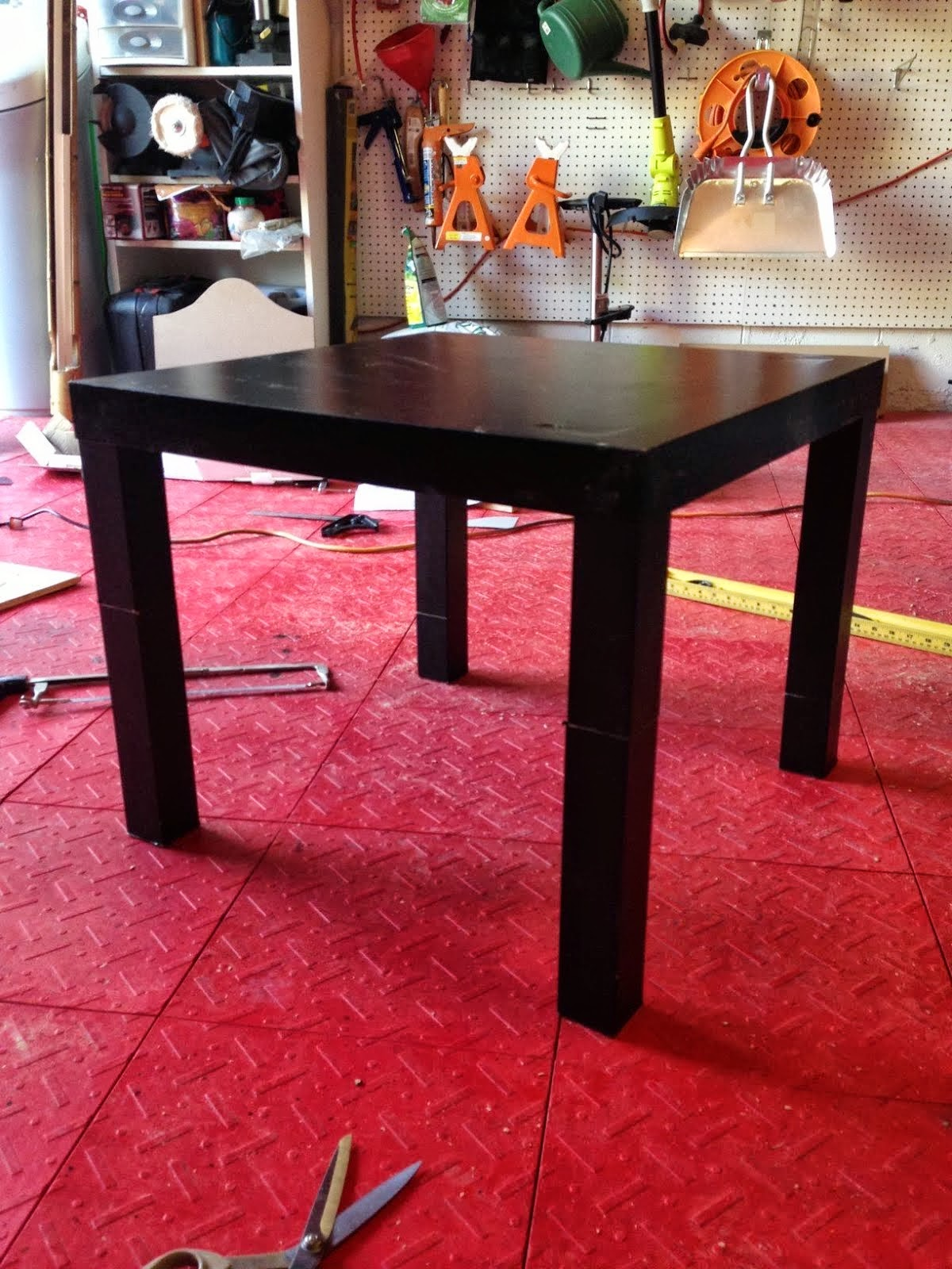 J.N. Taylor and Co.: Dog Hack -- Side Table converted Dog ...