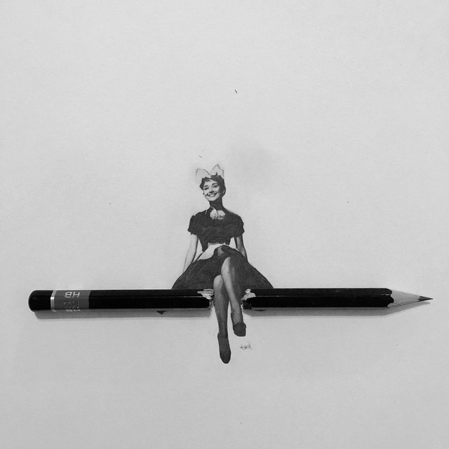 02-Audrey-Hepburn-Hash-Patel-ilovehash-Celebrity-Detailed-Micro-Miniature-Drawings-www-designstack-co