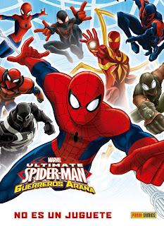 http://www.nuevavalquirias.com/marvel-kids-ultimate-spider-man-guerreros-arana-comic-comprar.html
