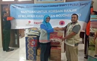 Ringankan Beban Korban Banjir, EMCL Salurkan Bantuan
