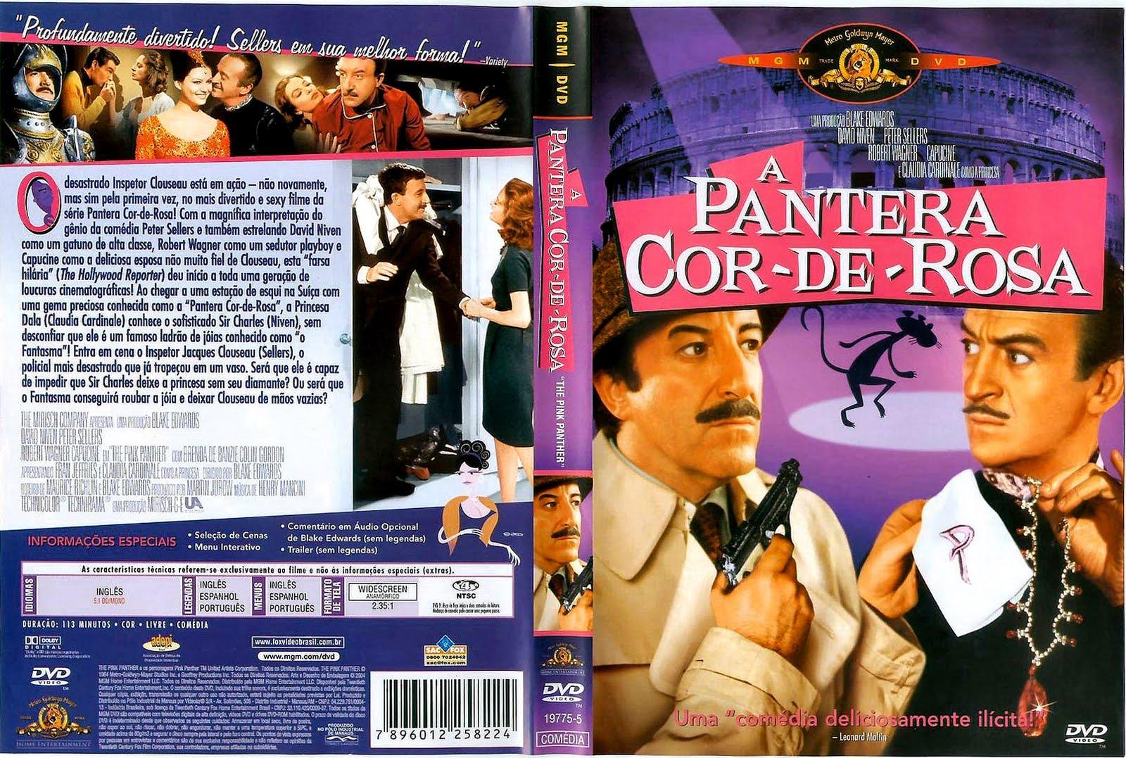 Rmbs Rock Filme A Pantera Cor De Rosa The Pink Panther 1963