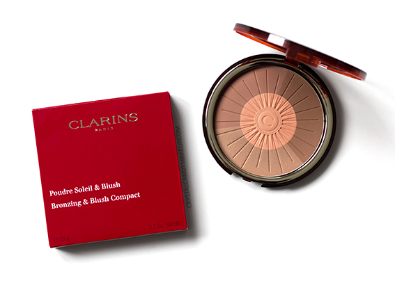 Clarins Sunkissed Collection Bronzing Blush Compact Review Photos Swatches