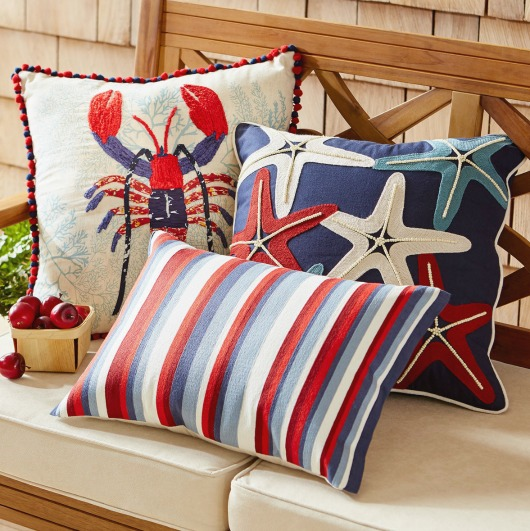 Coastal Americana Pillows