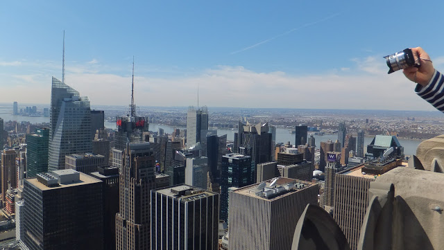 New York, Manhattan, été, Top of the Rock, elisaorigami