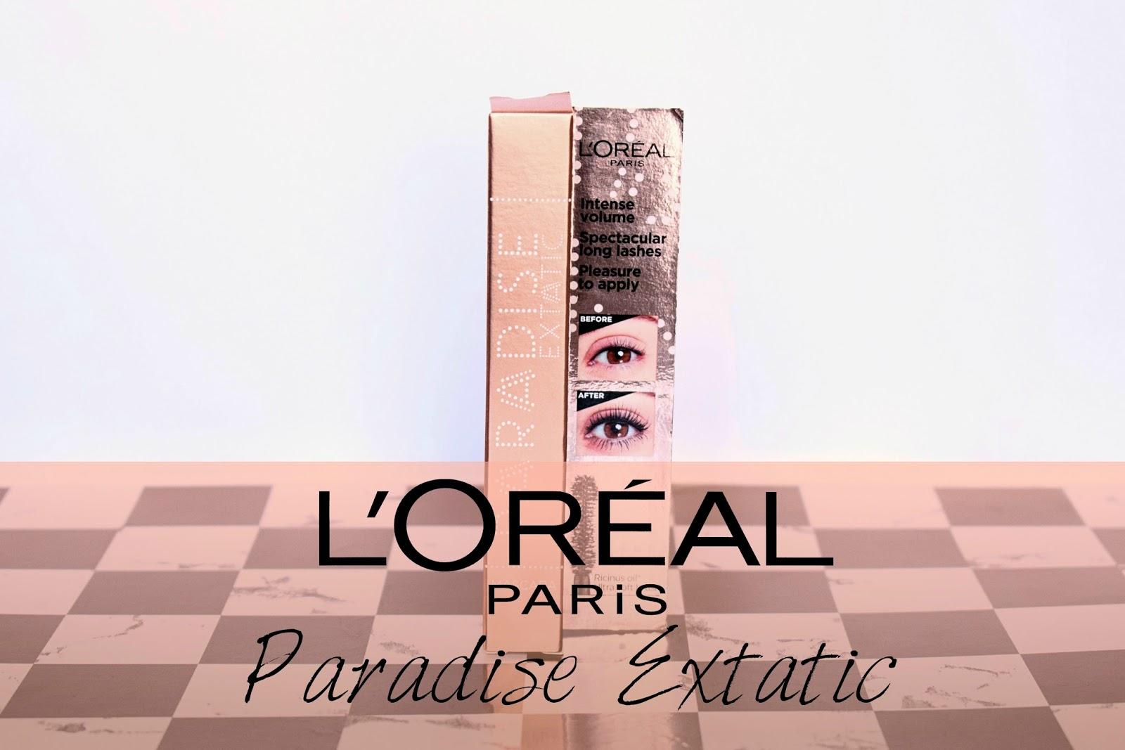 Sura Dancer Beauty Blog L Oreal Paris Paradise Extatic Maskara Swatch Na Trepavicama