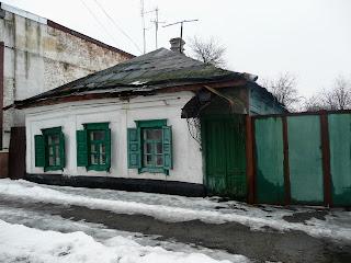 Павлоград. Віконниці. Стара забудова