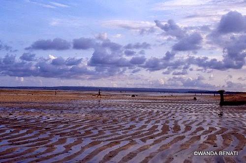 Bassa marea su una spiaggia di Bali