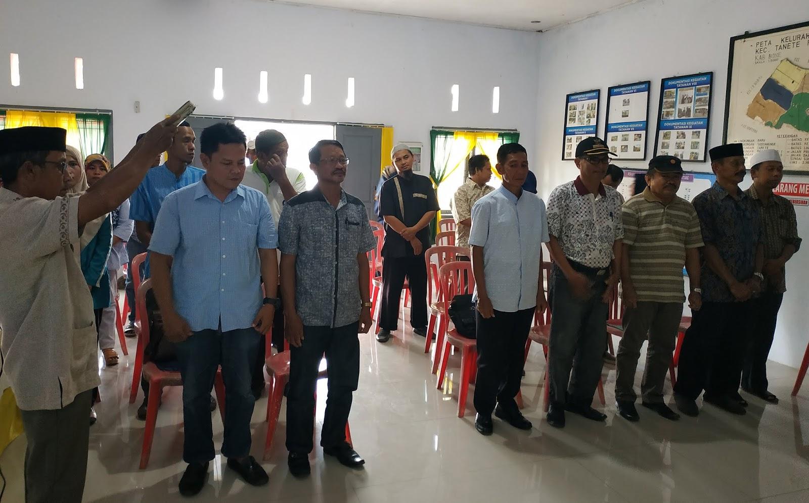 PPS Biru Lantik dan Ambil Sumpah Ketua KPPSnya