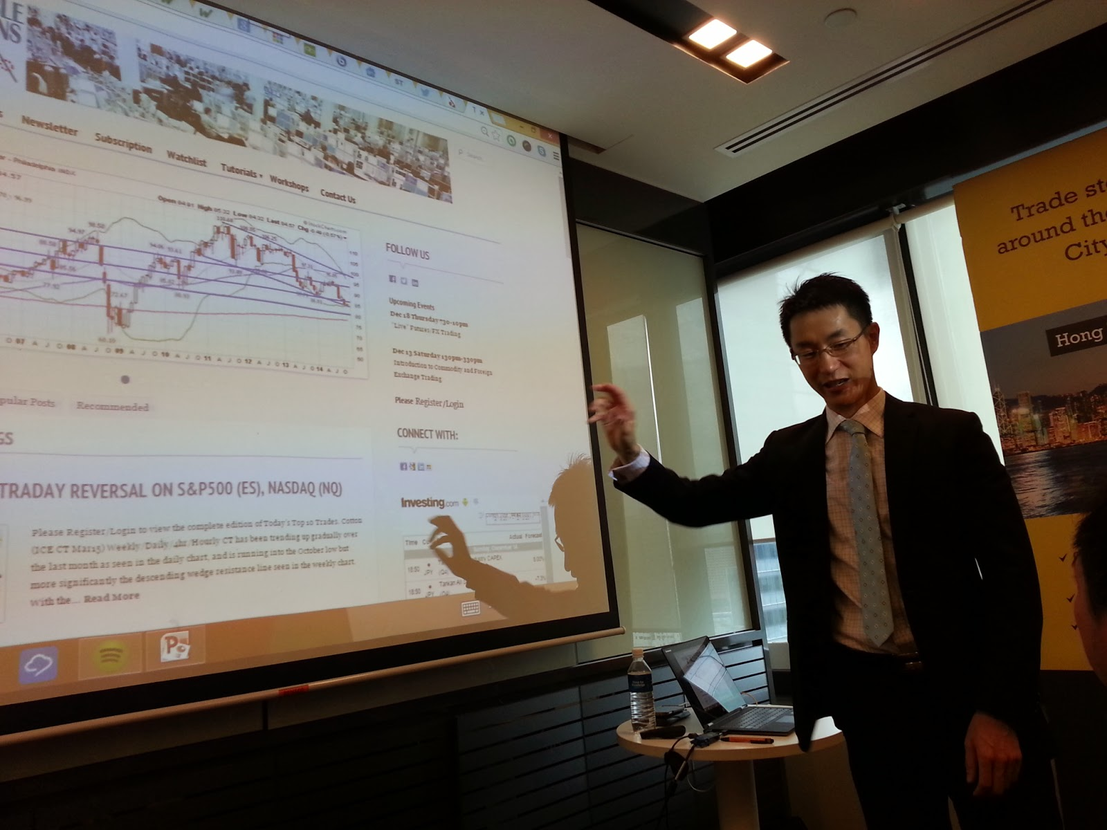 Clarence chee forex