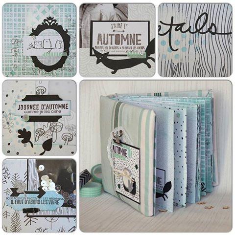 le scrap d 39 opsite tutoriel mini album. Black Bedroom Furniture Sets. Home Design Ideas