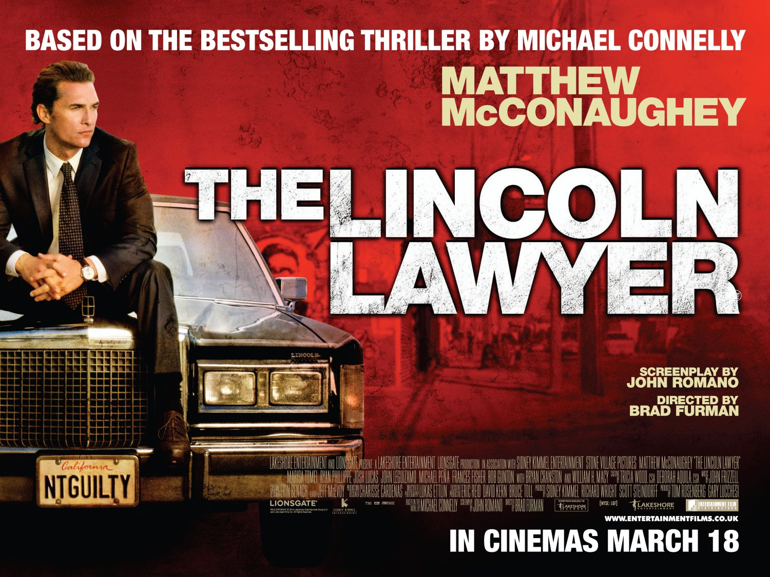 lincoln lawyer teaser trailer