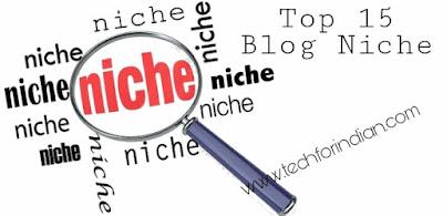 Blog niche ideas techforindian