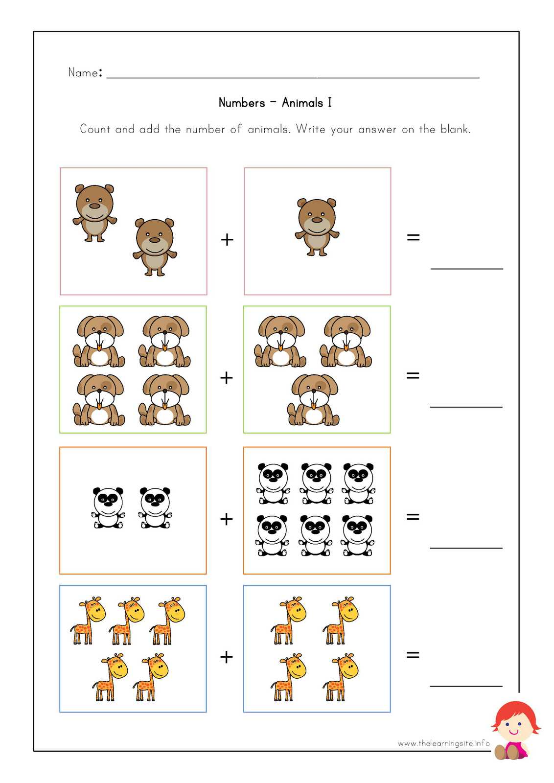 small resolution of animal worksheet: April 2015