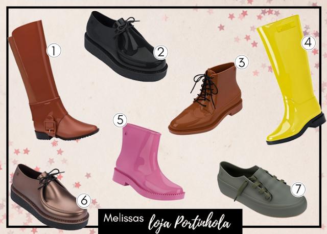 7 modelos de sapatos da marca melissa ideiais para o Outono (ou épocas de chuva)