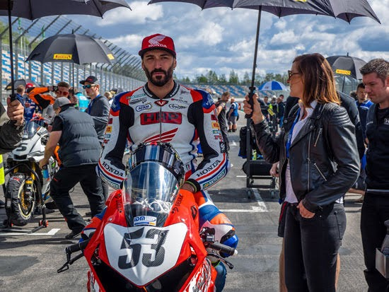 Alessandro Polita startet auch 2019 für HRP-Honda